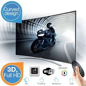 Sam­sung UE55H8000 (55 Zoll) curved 3D LED-TV, Full HD, 1000 Hz, Triple Tuner, Smart TV, Fuß­ballm­odus für 1509€ @ibood