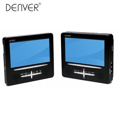 Denver DVD-Autoreise-Set MTW-745 TWIN für 54,95€ (104,70 € Idealo) @Rossmann