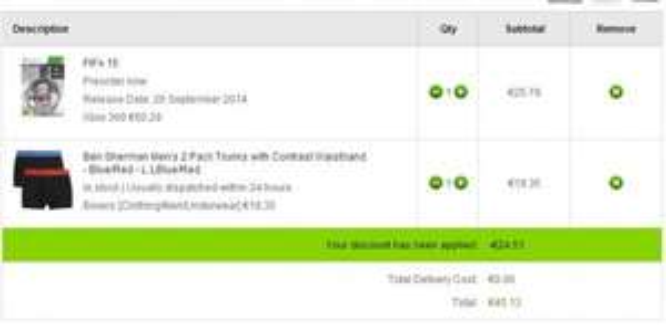 Fifa 15 PS4 / XBOX One / PS3 ab 41,34 Euro + 2 Ben Sherman Boxershorts