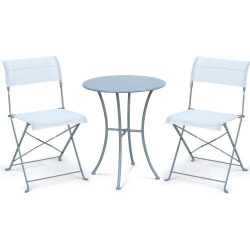 3-tlg. Bistro Set 2 Stühle & 1 Tisch 41,89 Euro @eBay