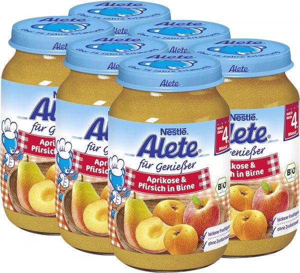 [REAL] 2x Alete Früchte Glässchen mit Coupon nur 0,50€/Stück (18.08.-19.08.)