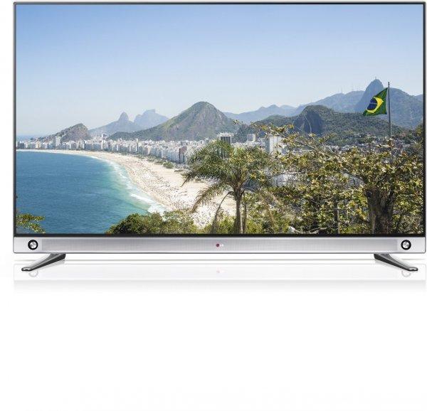 LG 65LA9659 164 cm (65 Zoll) Cinema 3D LED-Fernseher, EEK A (Ultra HD, 1000Hz MCI, DVB-T/C/S, LED Plus, 3D Dual Play, Smart TV, HbbTV) silber