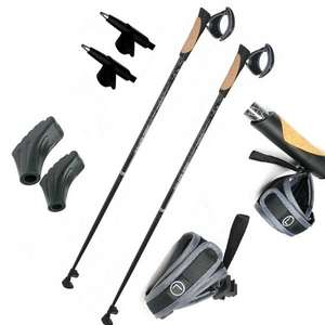 Carbon Nordic-Walking-Stock Walker 5000 Premium Edition 27,99Euro @ebay