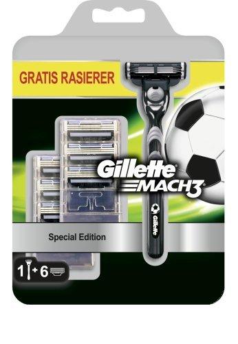 [Lokal] Gillette Mach3 Fußball Edition Rasierer + 6 Klingen @ Saturn Wiesbaden