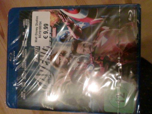 Marvel The Avengers Blu-Ray 9,99€ Real online auch Lokal z.B. Espelkamp