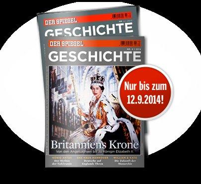 """2 kostenlose Ausgaben der Zeitschrift  """"SPIEGEL GESCHICHTE"""""""