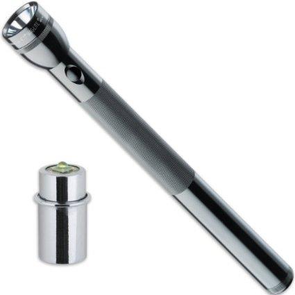 Primekunden: Mag-Lite 5D-Cell Stablampe für 5 Mono-Batterien inkl. LiteXpress LED Upgrade Modul 220 Lumen
