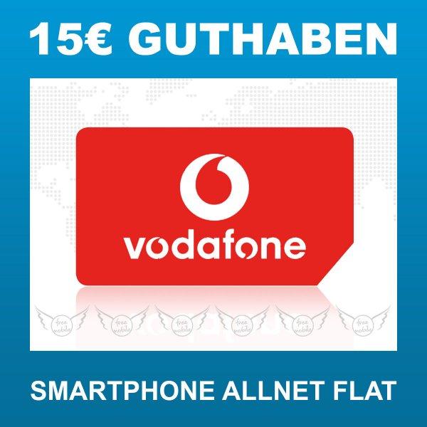 15€ Call Ya Karte (Vodafone) für 3,99€