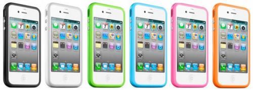 6X iPhone4 Bumper Tasche Cover Case +Schutzfolie +Kabel @Ebay