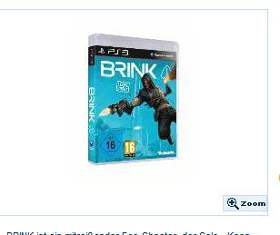 Brink Uncut PS3/PC/XBOX 360 für 23,98€ bei Schlecker