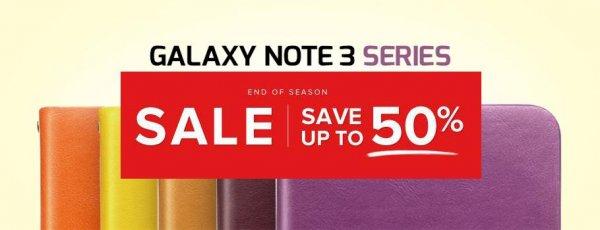 50 % Rabatt auf Zenus Galaxy Note 3 Taschen