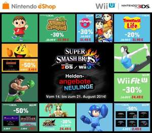 Nintendo E-Shop Sale - Super Smash Bros. Heldenangebote