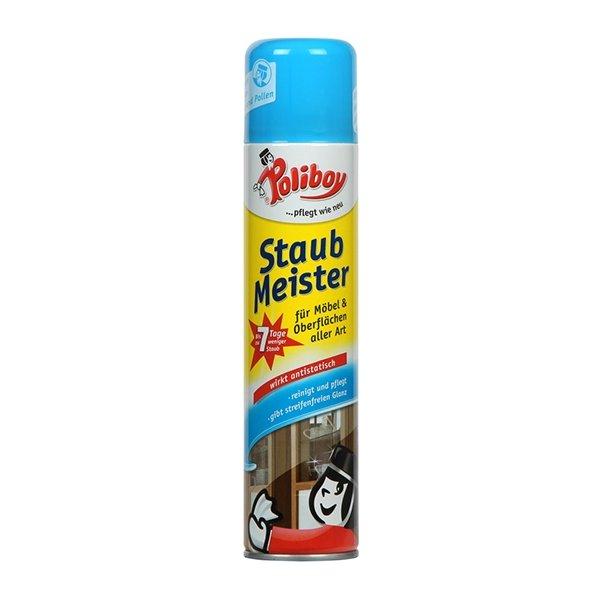 Poliboy Staubmeister Spray 300ml risikofrei gratis TESTEN + Portokostenerstattung (GzG)