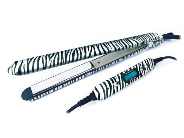 [Amazon.de] Corioliss C2 Titanium Platinum Zebra Pro Glätteisen, Variable Temperaturregelung, Idealo.de ab 121,25€