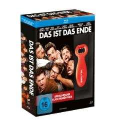 Das ist das Ende (Blu-ray) inkl. Sprechendem Flaschenöffner für 7,99€ @Media Markt