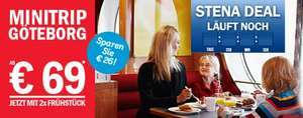 Stena Line Kiel- Göteborg ab 69 €