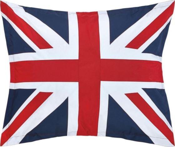 Sitzsack Union Jack 100x120cm versandkostenfrei für nur € 15,- (MÖMAX)