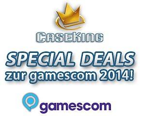 Viele Gamescom-Deals / Gutscheine bei Caseking.de: bis zu 70€ Rabatt, Gratis Zugaben: Bildschirme, Mäuse, SSDs usw...