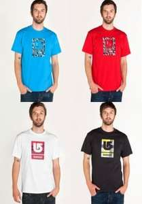 Burton Logo Shirts für 14,99€ bei Ebay WOW ink. Versand