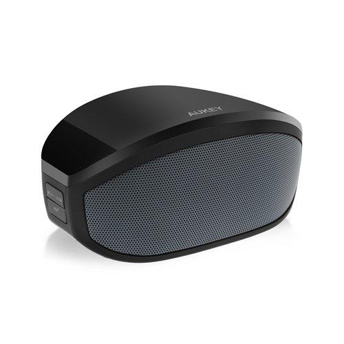 Tragbarer Bluetooth Lautsprecher mit wiederaufladbarem Akku schwarz nur 15,99€