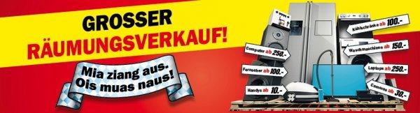 MM Ingolstadt Räumungsverkauf wegen Umzug