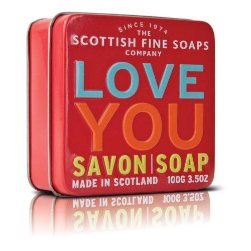 Scottish Fine Soaps LOVE YOU Tin, 7,99€, Amazon