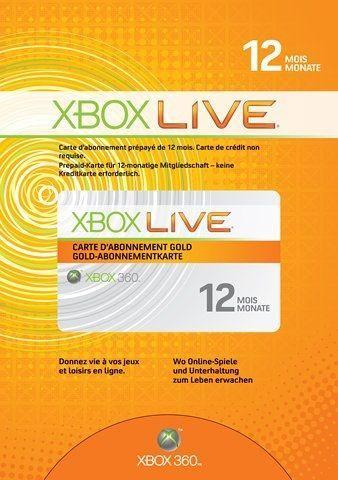 Xbox Live 12 Monate Gold bei eBay für 30 €