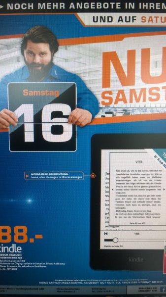 Kindle Paperwhite 4GB nur am Samstag nur bei Saturn Berlin/Potsdam für 88,-