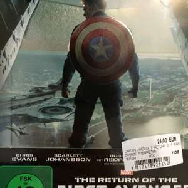 [Lokal MediaMarkt Bremen Weserpark] Captain America 2 3D Steelbook