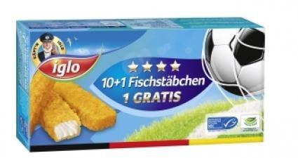 IGLO fischstäbchen -netto lokal-