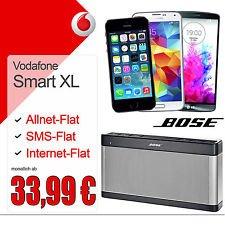 Vodafone Smart XL + Galaxy S5 /LG G3 32GB / iPhone 5S + Bose Soundlink III [junge Leute]