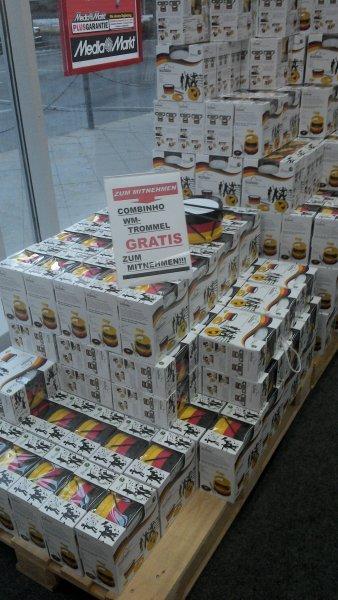 +[Lokal Mediamarkt Berlin Wedding] Combinhos (WM Trommel) 0,-€ statt 10,-€