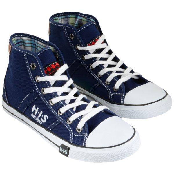 H.I.S. Wave Cut High-Sneaker SCHWARZ bei Hoodboyz durch 20Euro-Gutschein für € 13.- pro Paar inkl. VSK (€ 40.- MBW, dann minus € 20.- plus VSK)