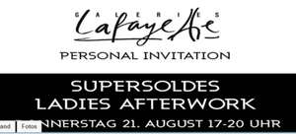 [Lokal Berlin] 60% auf die Sommerkollektionen @GALERIES LAFAYETTE