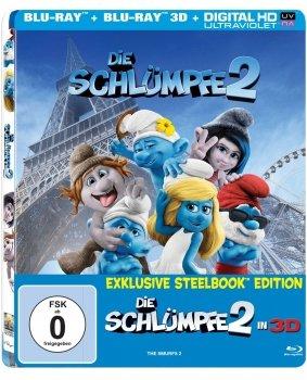 [alphamovies.de] Schlümpfe 2 3D Steelbook für 11,99€ (ab 17€ keine VSK) + weitere Angebote