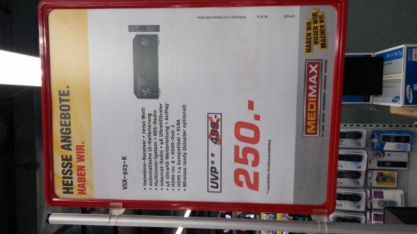 Pioneer VSK-923-K im MediMax im Schenefelder Einkaufszentrum für 250 €