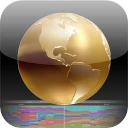 [iOS] World History Atlas HD with 3D für iPhone und iPad gratis