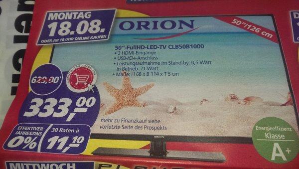 Orion 50 Zoll LED-TV