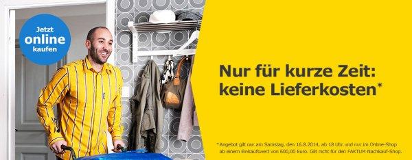 IKEA ONLINE SHOP - VERSANDKOSTENFREI BESTELLEN - VERMUTLICH NUR NOCH HEUTE