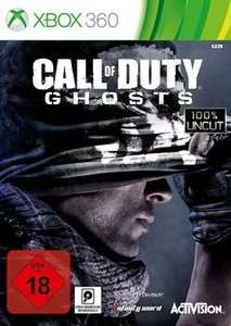 CALL OF DUTY GHOST Xbox360 / PS3 / PC je 17€ [Saturn Super Sunday]