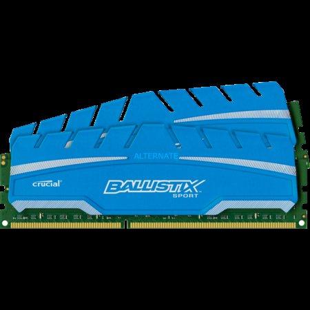 """Crucial Arbeitsspeicher """"DIMM 8 GB DDR3-1600 Kit"""" für 53€"""