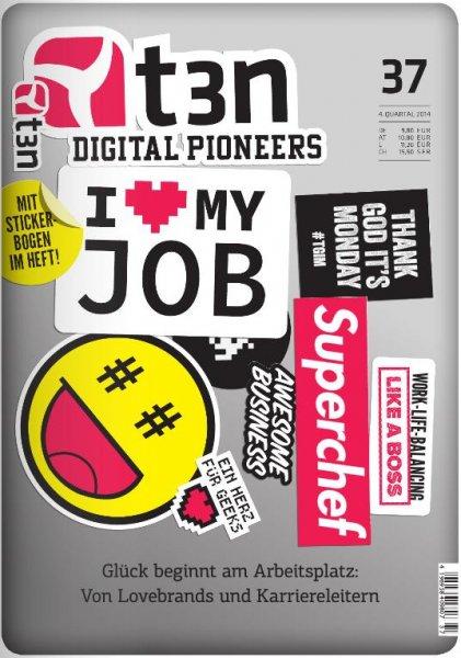 t3n Digital Pioneers Magazin: Ausgabe 37 (09/2014 – 11/2014) + 19 weitere Ausgaben online Probelesen