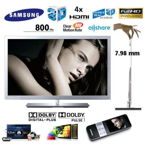 Samsung LED TV 9000 UE46C9000 (46 Zoll) Full-HD 3D LED Crystal TV™ (IBOOD)