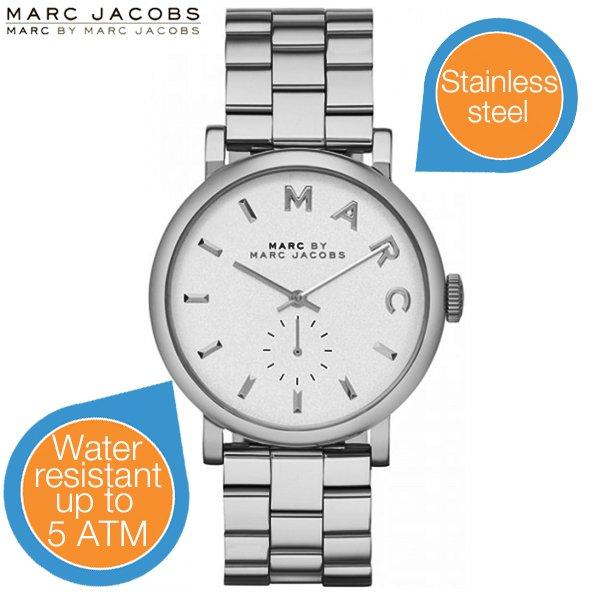 [iBOOD] Marc Jacobs Damen-Uhr MBM3242 für 85,90€ (Idealo ab 143€)