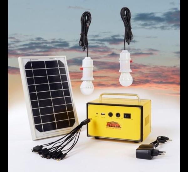 Mauk 1610 Solar Beleuchtungsset Powerpack für 54,90 inkl. Versand