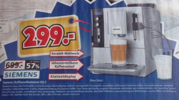 Kaffeevollautomat Siemens EQ.5 macchiato   TE503501DE   bei Segmüller [LOKAL]