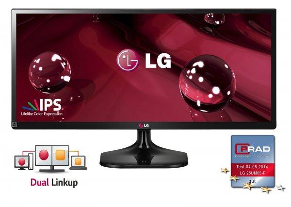 """LG Flatron 25UM65-P für 139€@ eBay - 25"""" Widescreen Monitor mit 2560x1080 Pixeln"""