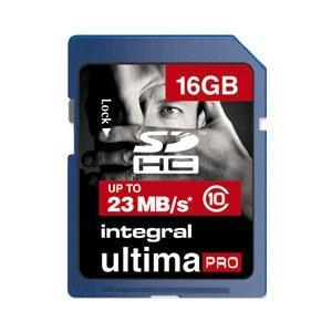 Integral 16GB Ultima Pro SD Karte (SDHC) - Class 10 für nur EUR 18,05 (inkl. Versand)