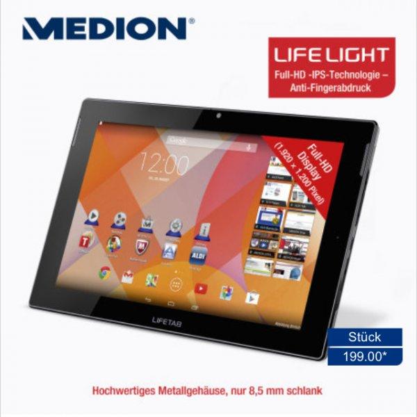 MEDION® LIFETAB® S10334 (2 GB RAM, Full-HD-Auflösung (1.920 × 1.200 Pixel) Android 4.4