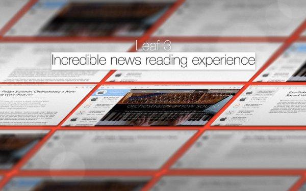Mac App Store: Leaf - The News Reader für 3,59€ (50%)